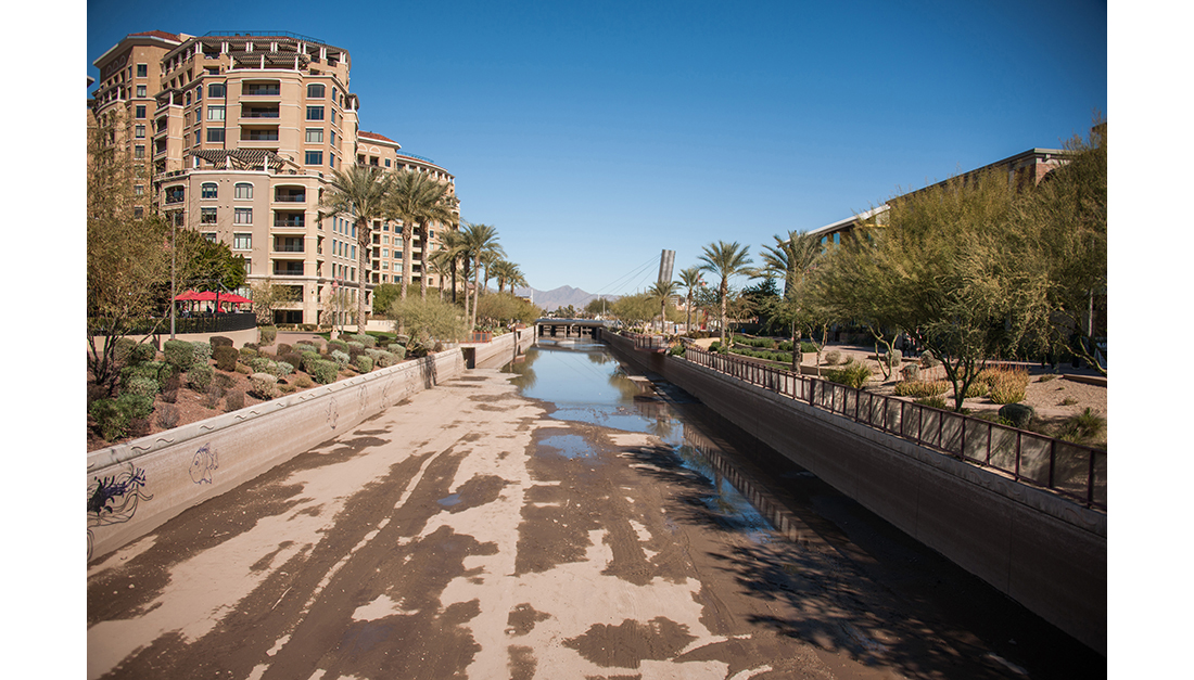 Scottsdale Waterfront Canal Painting